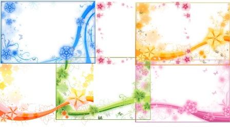 Накладки на фото з квітами