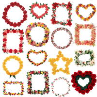 Рамочки з трояндами