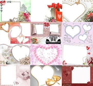 рамки з сердечками
