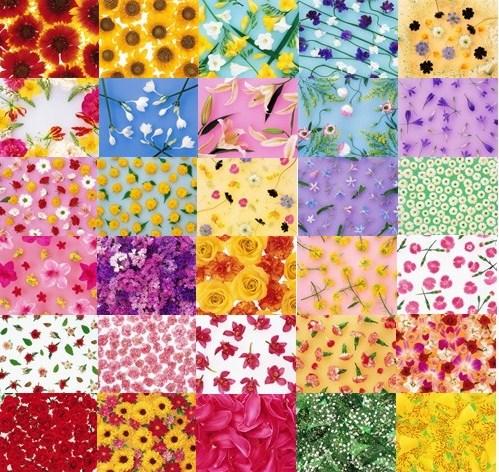 Квіткові фони для оформлення робіт